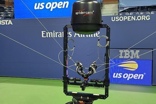 Spidercam-3D-cable-cam-with-NEWTON-stabilized-remote-head-at-live-TV-broadcast-of-US-Open